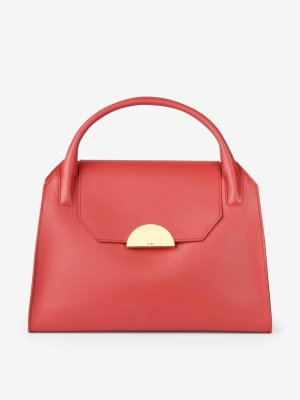 BREE Cambridge 12 Handtasche Leder Massai Red rot 4038671009301