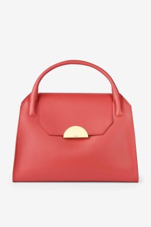 BREE Cambridge 12 Handtasche Leder Massai Red rot 4038671009301