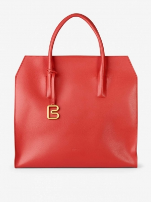 BREE Cambridge 11 Handtasche-massai-red-rot