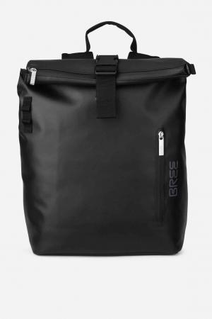 Bree Punch 712 Rucksack Daypack Kurierrucksack S black schwarz