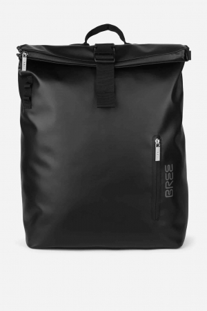 Bree Punch 713 Rucksack Backpack schwarz black kaufen bei stylekrone.com