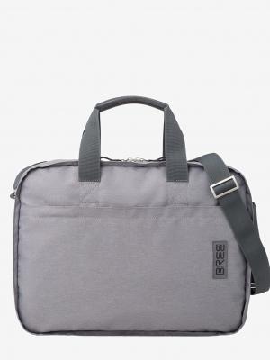 BREE Punch Style 67 Aktentasche aus Polyester grey denim grau_364985067_1