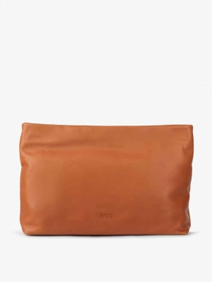 BREE Stockholm 32 Clutch-whisky cognac