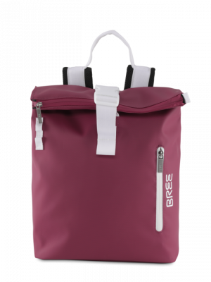 Bree Punch 712 Rucksack rhododendron 83172712 dunkelrot_Front_0