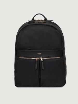 Knomo Beaufort Rucksack Backpack Black schwarz
