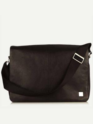 Knomo Bungo Messenger Bag -Tasche Black schwarz kaufen bei stylekrone.com