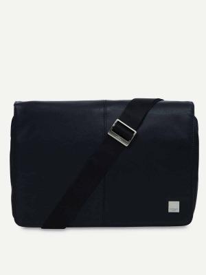 Knomo-Kinsale-Messenger-Tasche-Black-schwarz
