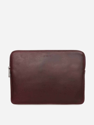 Knomo-Sleeve-12-Leder-Laptop-Hülle-Brown-braun