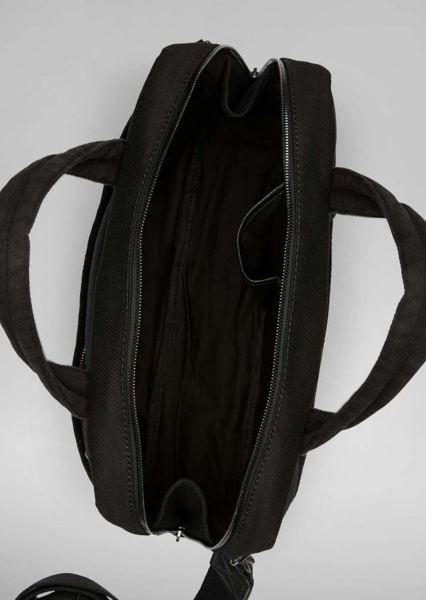 Marc O'Polo 106 Buissness Aktentasche black schwarz kaufen innen