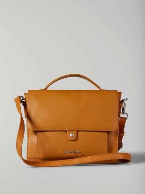 Marc-O'Polo Umhängetasche Handtasche 114 aus Leder in curry cognac