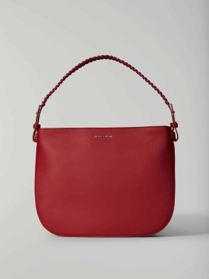 Marc-O'Polo 117 Schultertasche Hobo Bag cherry rot vegan