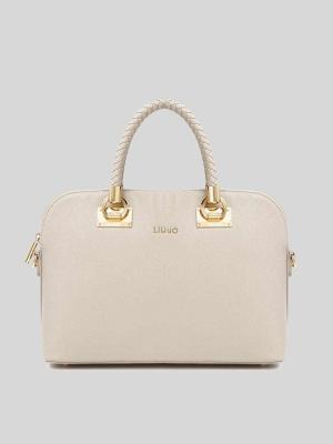 LIU-JO-Anna-Shopping-Shopping-Bag-Tortora-chiaro-Beige