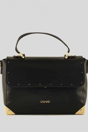 LIU-JO-Handtasche-Briefcase-Nero-Schwarz