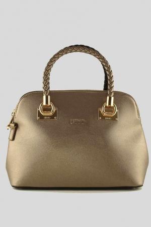 LIU-JO-Shopping-Bag-67-Shopping-Bag-Pale-Brown-MetNero-Gold