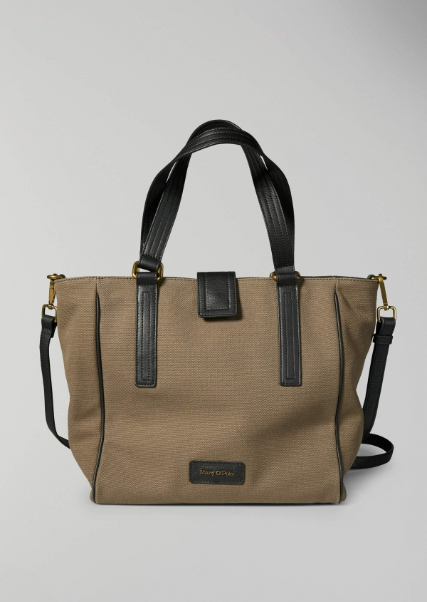 Marc O'Polo Maria Schultertasche Baumwolle light olive green 80818064101801_421