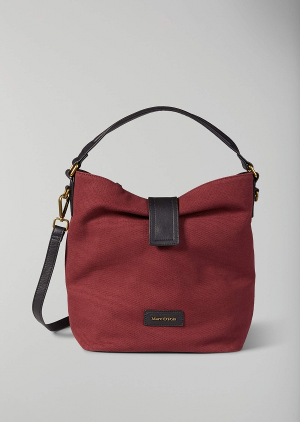 Marc O'Polo Ruby Schultertasche Baumwolle burgundy red 80818064102801_369