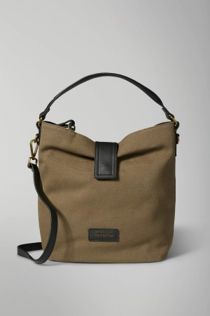 Marc O'Polo Ruby Schultertasche Baumwolle light olive green 80818064102801_421