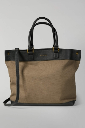 Marc O'Polo Hazel Shopper Baumwolle light olive green 80818064301801_421