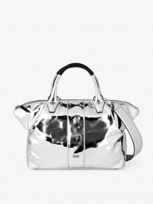 Bree Icon Bag Silber silver