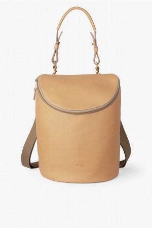 Bree Stockholm 40 nature beige Rucksasck Backpack Leder