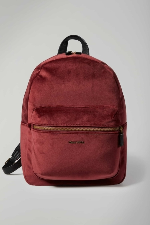 Marc O'Polo Lucia Polyester Rucksack burgundy-red-rot-kaufen