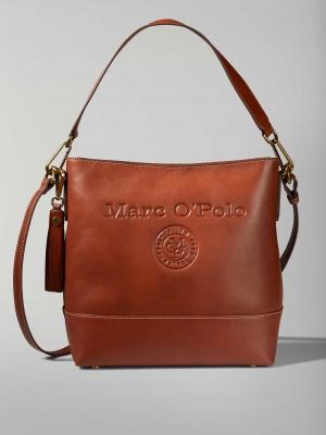 Marc O'Polo Vicky Leder-Schultertasche-authentic-cognac-cognac-kaufen