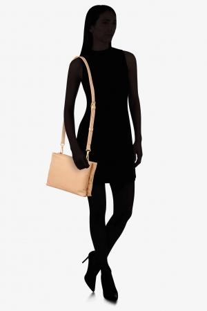 Bree Stockholm 46 Umhängetasche aus Leder Crossbody Bag nature beige 184750046_2