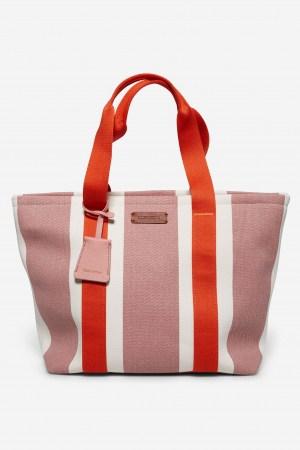 Marc O'Polo Salina Shopper Canvas Stoff pink 90318220301604_331_2.1