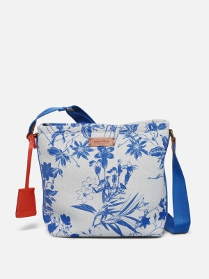 Marc O'Polo Elina Schultertasche Canvas Stoff calico blue 90318221101604_864_2.1