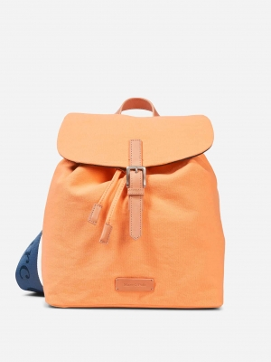 Marc O'Polo Rucksack Ayleen papaya baumwolle canvas orange Orange