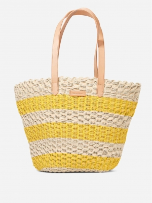 Marc O'Polo Sanna spectra yellow striped Gelb
