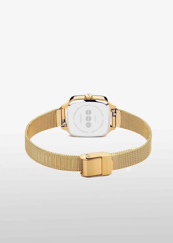 KOMONO KATE ROYALE Edelstahl mit Mesh-Armband Gold KOM-4253_3