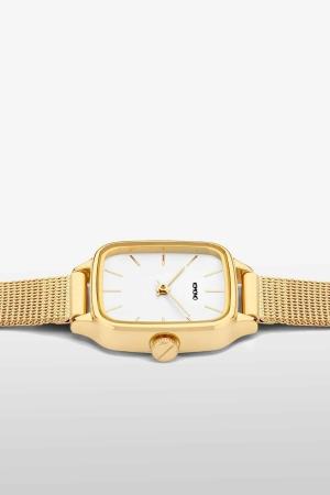 KOMONO KATE ROYALE Edelstahl mit Mesh-Armband Gold KOM-4253_4