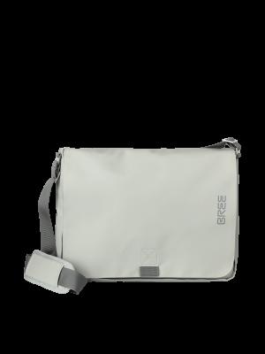 BREE Punch 49 Messenger Tasche - Dunkelbeige belgian block 83420049_1