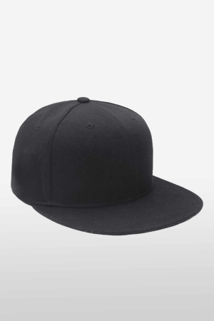 Cap Black Edition aus Canvas schwarz_1
