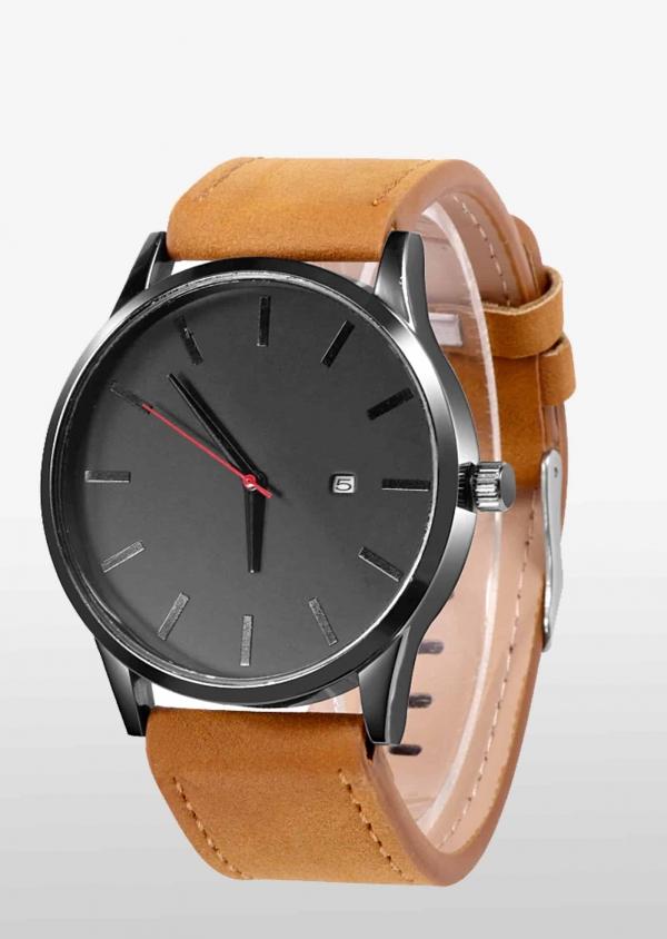 Herren-Uhr-Cognac-Schwarz-Leder_2