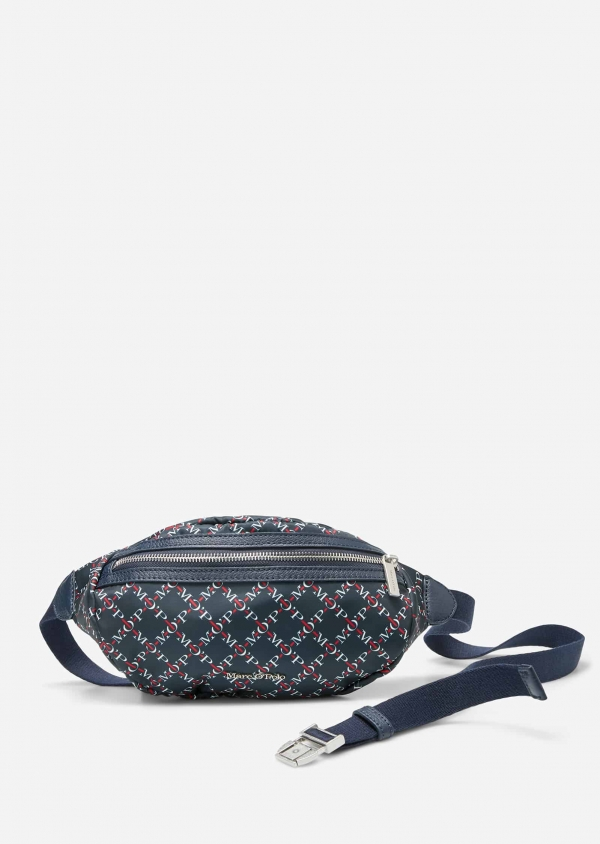 Marc O'Polo Wibke  printed true navy Dunkelblau