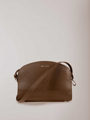 Marc O'Polo Hailey Umhängetasche Leder - Chocolate brown 90318129792198_789