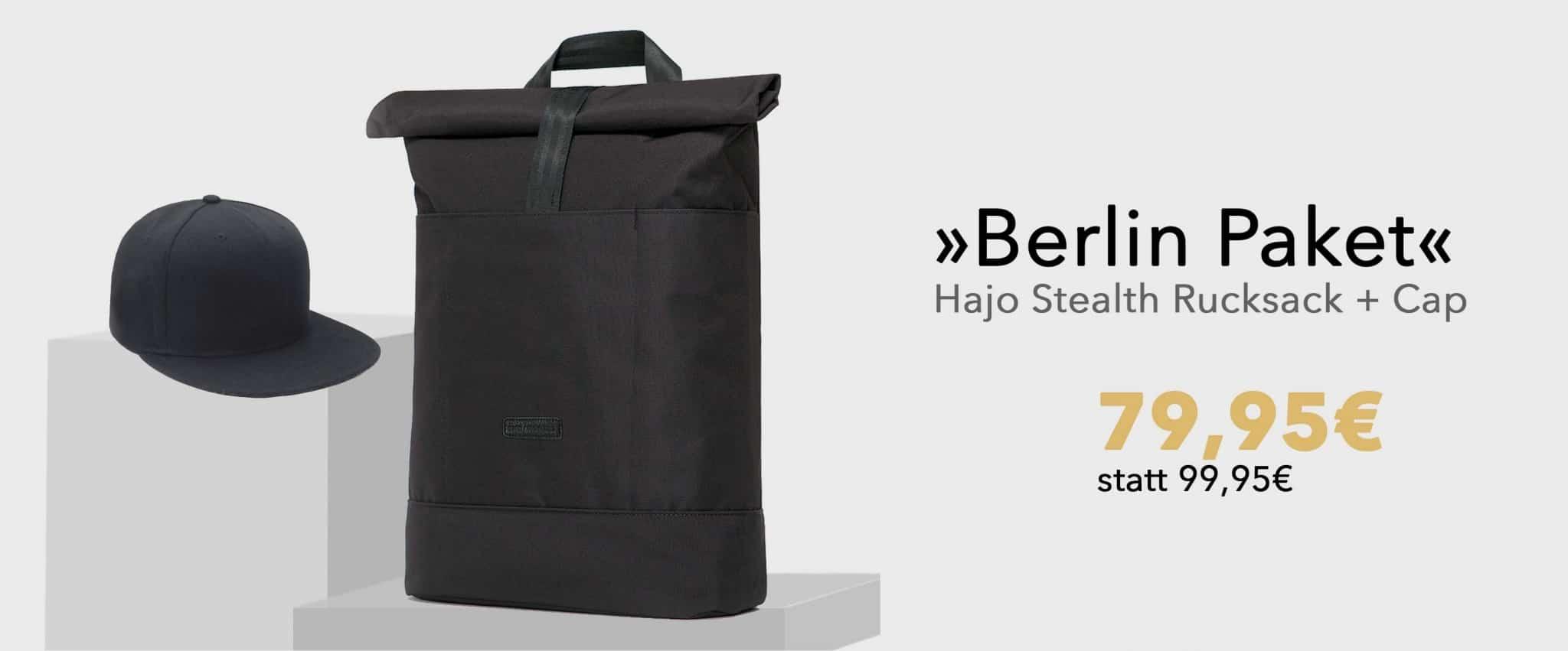 STYLEPAKET- Berlin Paket-Hajo Stealth_BaseCap-Banner