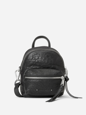 Marc O'Polo Fine Mini Rucksack black Schwarz kaufen