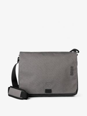 Bree Punch Style 49 Messengertasche slate Grau kaufen bei stylekrone.com