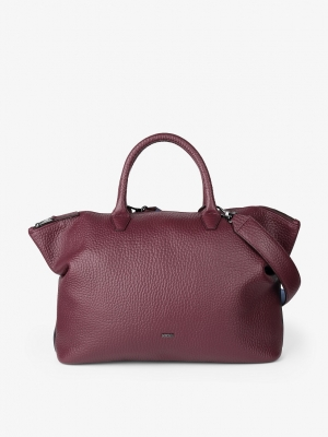 BREE Icon Bag M Handtasche Leder port royal dunkelrot 362171003_4038671015036_1