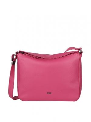 BREE Lia 3 Umhängetasche Cross Shoulder Leder jazzy pink 380130003_4038671024571_kaufen bei stylekrone.com