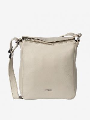 BREE Lia 6 Umhängetasche Cross Shoulder Leder chinchilla beige 380470006_4038671020498_kaufen bei stylekrone.com