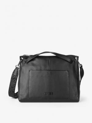 BREE Misaki 2 Schultertasche Leder M black schwarz 384900002_4038671014725 kaufen bei stylekrone.com