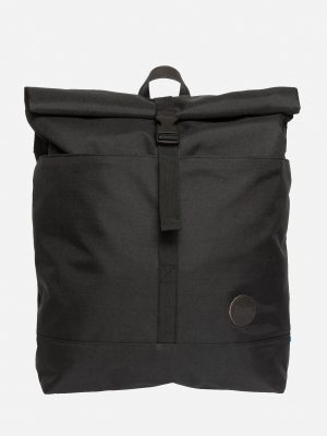 Enter LS Roll Top Rucksack recycled black schwarz_S19LC1642R01_1