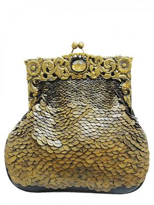 DESIDERIUS Stella GAEA Clutch Handtasche DEAW160330 black schwarz