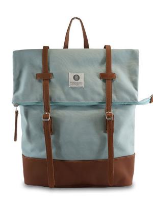 RIDGEBAKE Backpack Mid Rolling Pastel Blue 1-137CA aus Canvas/Leather kaufen bei stylekrone.com