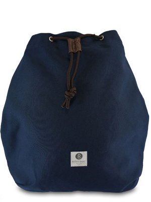 RIDGEBAKE Backpack Paul Canvas  Navy & Beige Wash 1-139CA aus Canvas kaufen bei stylekrone.com